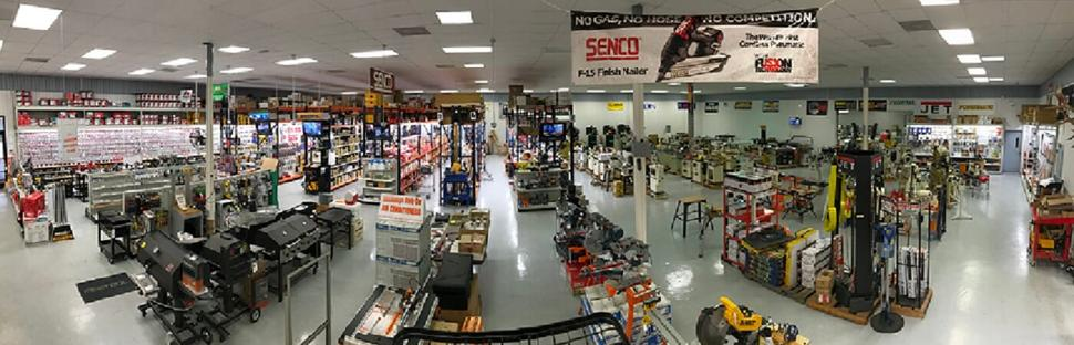 12000 Square Foot Machinery Showroom