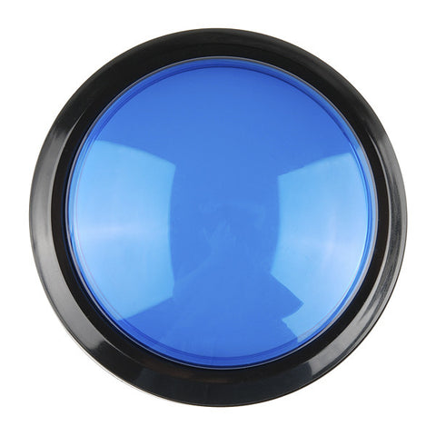 Big Dome Pushbutton - Blue