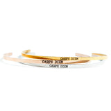 Delicate Carpe Diem Bangle