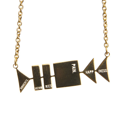 Cutout Necklace