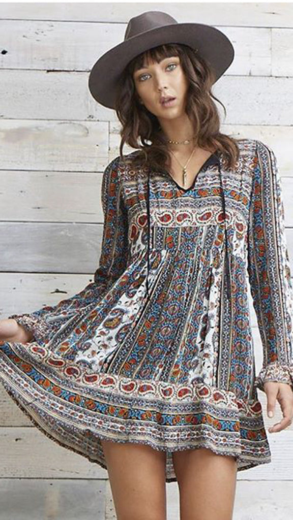 Patrons of Peace Gypsy Dress