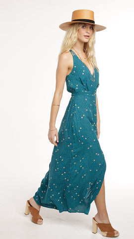 Patron's of Peace Halter Maxi Dress