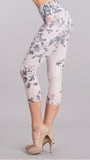 M Rena Cropped  Floral Leggings