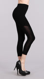 M Rena Cropped Triangle Burnout Leggings