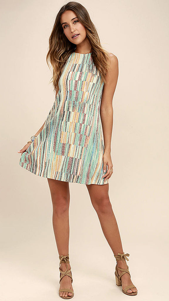 GUINEVERE MULTI-COLOR DRESS