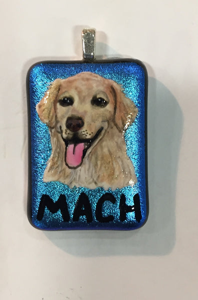 Custom Hand Painted MACH Pendant