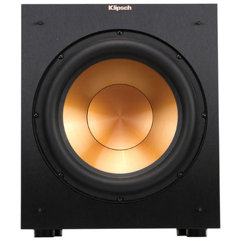 "Klipsch r12sw 12"" 400 watt powered subwoofer test review"