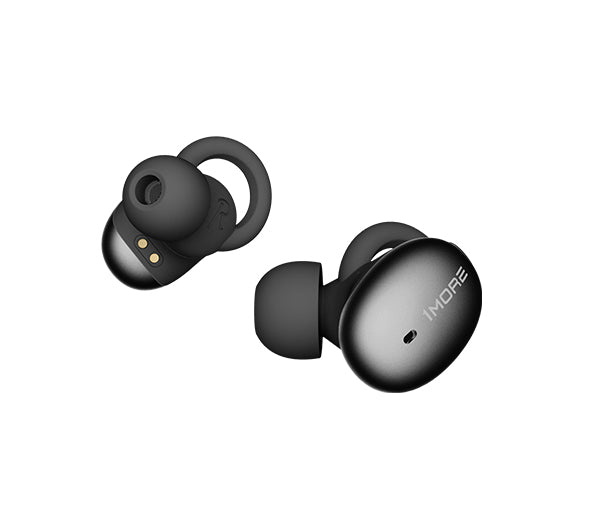 1MORE Stylish True Wireless In-Ear Headphones (Black) <div class= shogun-root  data-shogun-id= 5c083bbd6ffd63004eaf892d  data-shogun-site-id= 1aee44cd-410e-4fe8-a51b-cfc60e761bee  data-shogun-page-id= 5c083bbd6ffd63004eaf892d  data-shogun-page-version-id= 60fe89912b694200c9ac6d8b  data-shogun-platform-type= shopify  data-shogun-variant-id= 60fe89922b694200c9ac75e5  data-region= main >    <script type= text/javascript  src= https://lib.getshogun.com/lazysizes/2.0.0/shogun-lazysizes.js  async></script>  <div class= shg-box-vertical-align-wrapper >     <div class= shg-box shg-c      id= s-eaf54d1d-d245-4c9d-b33b-150f1727feae >       <div class= shg-box-overlay ></div> <div class= shg-box-content >         <div id= s-d0ed835c-c2fa-4a38-a2b0-6595ceb1dbc6  class= shg-c   >   <div class= shg-rich-text shg-theme-text-content > <div style= width: 100%; margin: auto; padding-bottom: 10px; ><img class= shogun-image  shogun-lazyloaded  src= https://i.shgcdn.com/55303c05-49e6-450c-9e84-63bdad006299/-/format/auto/-/preview/3000x3000/-/quality/lighter/  alt=   width=   height=   data-src= https://i.shgcdn.com/55303c05-49e6-450c-9e84-63bdad006299/-/format/auto/-/preview/3000x3000/-/quality/lighter/ ></div> <ul> <li> <span style= font-size: 16px; ><strong>6.5H BATTERY LIFE + FAST CHARGE- </strong></span>An optimized battery provides 6.5 hours of continuous play/talk time on a single charge (24 hours total with case). Fast charge capabilities gives you an additional 3 hours of use with only 15 minutes of charge time. </li> <li><span style= font-size: 16px; ><strong>TRUE WIRELESS + BLUETOOTH<span style= font-size: 12px; ><sup>®</sup></span> 5- </strong>Enjoy a truly wireless design featuring a Bluetooth<span style= font-size: 12px; ><sup>®</sup></span> 5 chip with Qualcomm aptX<span style= font-size: 12px; ><sup>™</sup></span> Audio Technology and AAC hi-res transmission optimized for your Android and iOS devices to provide better sounding audio at similar bit rates. </span></li> <li>