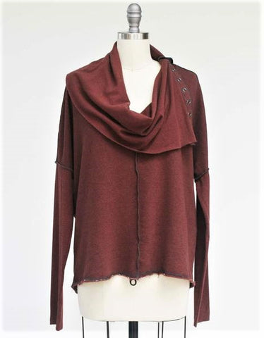 Essential Vortex Cowl Tunic/Mini