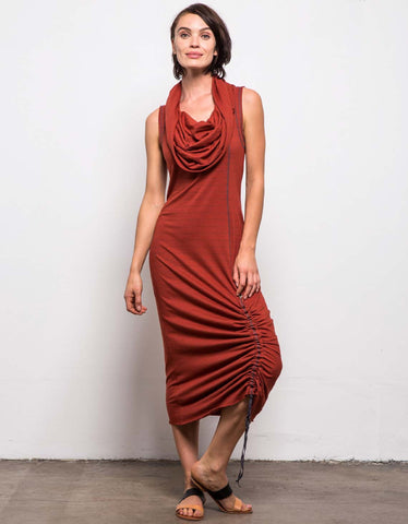 Sirocco Rif Cowl Dress
