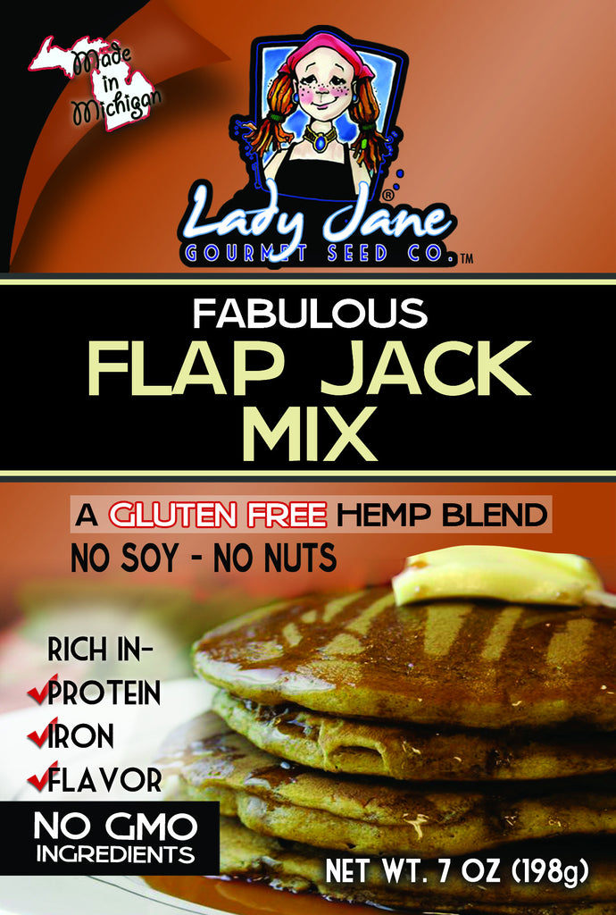 flap jack mix packaging