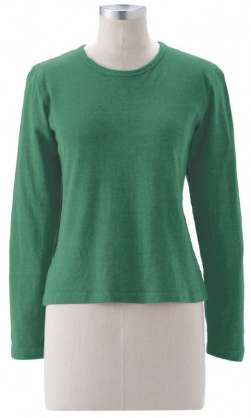 Hemp Long Sleeve Shirt-Hemp Fiber Fashions-cousinmaryjane-Lady Jane Gourmet Seed Company