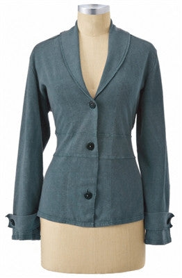 Hemp Evening Jacket-Hemp Fiber Fashions-cousinmaryjane-Lady Jane Gourmet Seed Company