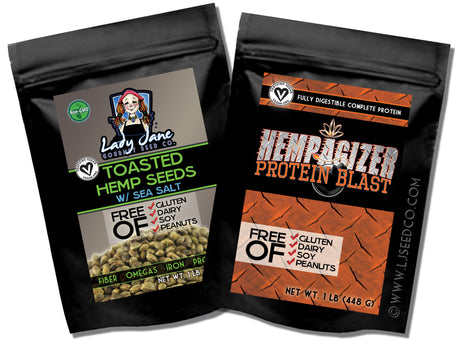 BODYBUILDER SET-Hemp Food Products-ladyjaneseedco-Lady Jane Gourmet Seed Company