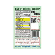 FREE SAMPLE TOASTED HEMP SEEDS w/ SEA SALT TASTE TESTER (limit 1)-Hemp Food Products-ladyjaneseedco-Lady Jane Gourmet Seed Company