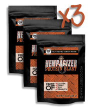 HEMPAGIZER PROTEIN BLAST 3 1LB BAGS - Best Buy!-Hemp Food Products-Lady Jane Gourmet Seed Company-Lady Jane Gourmet Seed Company