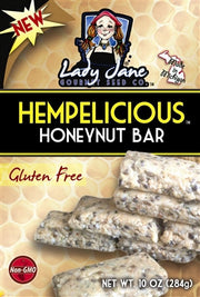 HEMPELICIOUS HONEYNUT BAR MIX | A BEST SELLER!-Hemp Food Products-ladyjaneseedco-Lady Jane Gourmet Seed Company