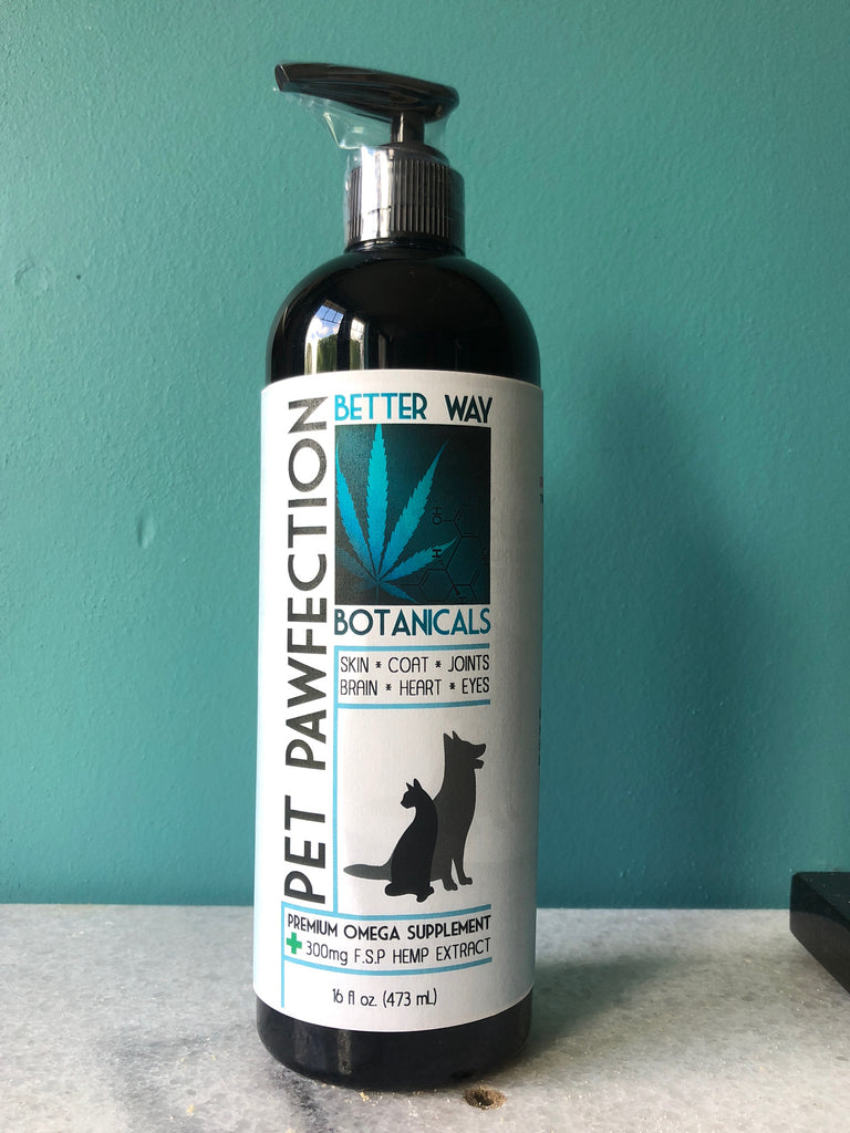 PetPAWfection 8oz-oil-Better Way Botanicals-Lady Jane Gourmet Seed Company