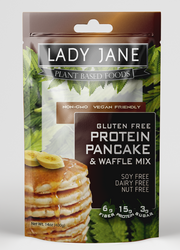 LADY JANE FABULOUS FLAP JACK MIX | HEMP BLEND | Best Pancakes Ever!-Hemp Food Products-ladyjaneseedco-Lady Jane Gourmet Seed Company