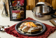 LADY JANE VEGAN FLAP JACK MIX | HEMP BLEND PANCAKE-Hemp Food Products-ladyjaneseedco-Lady Jane Gourmet Seed Company