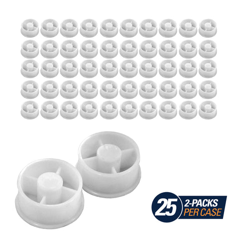 Plastic End Caps (2-Pack)