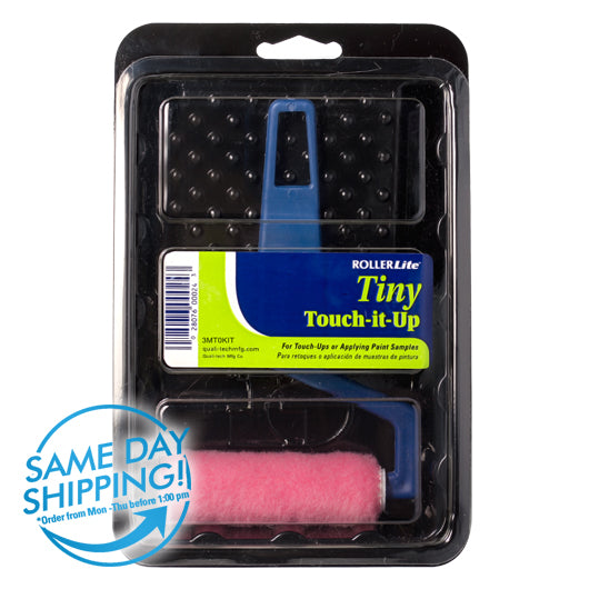 "Tiny Touch-It-Up™ (Mo-Tech™) - 3"" x 1/4"" - Mini Roller Kit - Woven Dralon® - 3 Pc"