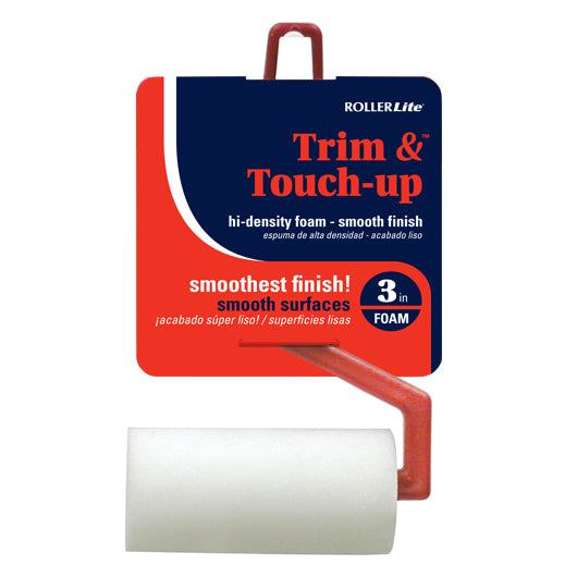 "Trim & Touch Up™ - 3"" - Mini Roller Assembly - High Density Foam"