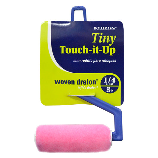 "Tiny Touch-It-Up™ (Mo-Tech™) - 3"" x 1/4"" - Mini Roller Assembly - Woven Dralon®"