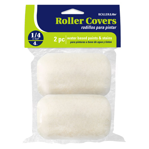 "White Velvet™ - 4"" x 1/4"" - Trim Roller Cover - Woven Dralon®"