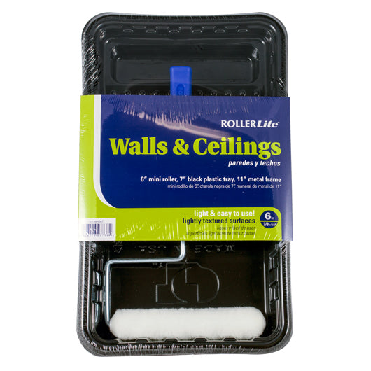 "Walls & Ceilings - 6"" x 3/8"" - (Woven Dralon®) - 3 Pc"