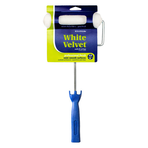 "White Velvet™ - 6"" x 3/8"" - Mini Roller Assembly - Woven Dralon®"