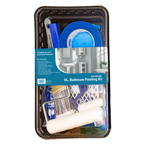Easy Paint Kit For Bathrooms - 10 Pc