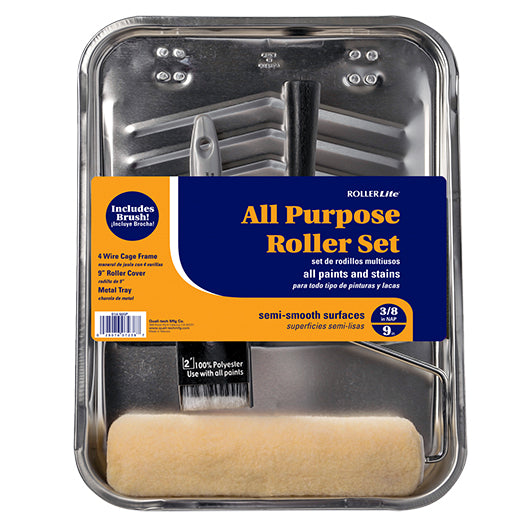 All Purpose™ Roller Set - 100% Polyester Knit - 4 Pc