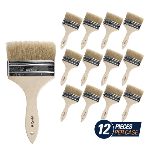 Chip Brush - Double Thick - 4""