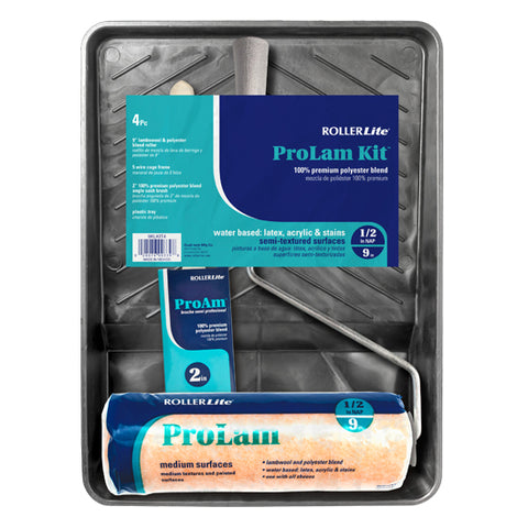 "ProLam Kit™ - 9"" x 1/2"" - Lambswool, Polyester and Acrylic Blend - 4 Pc"