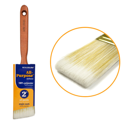 "All-Purpose™ 100% Polyester - 2"" - Angle Sash Paint Brush"