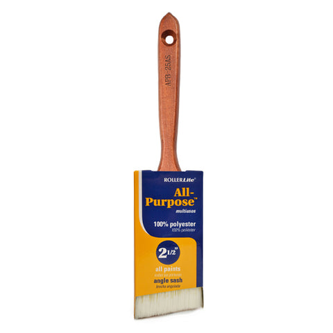 "2"" 1/2"" Polyester All-Purpose™ Angle Sash Paint Brush"
