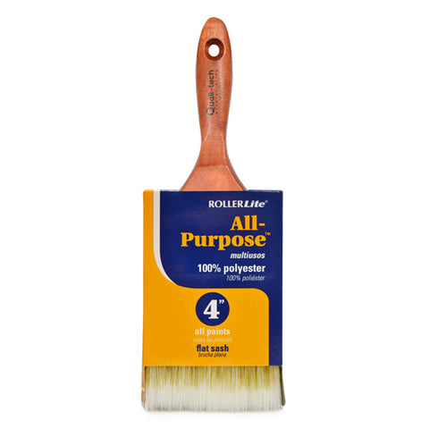 "All-Purpose™ 100% Polyester - 4"" - Flat Sash Paint Brush"