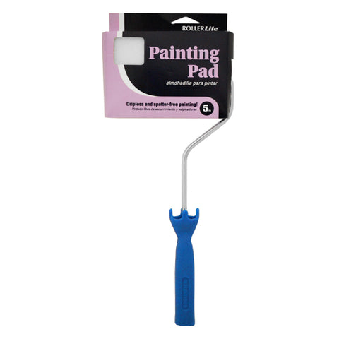 "5"" Flocked Material Paint Pad assembly. Also available in 2.25"", 7"" & 9"" sizes."