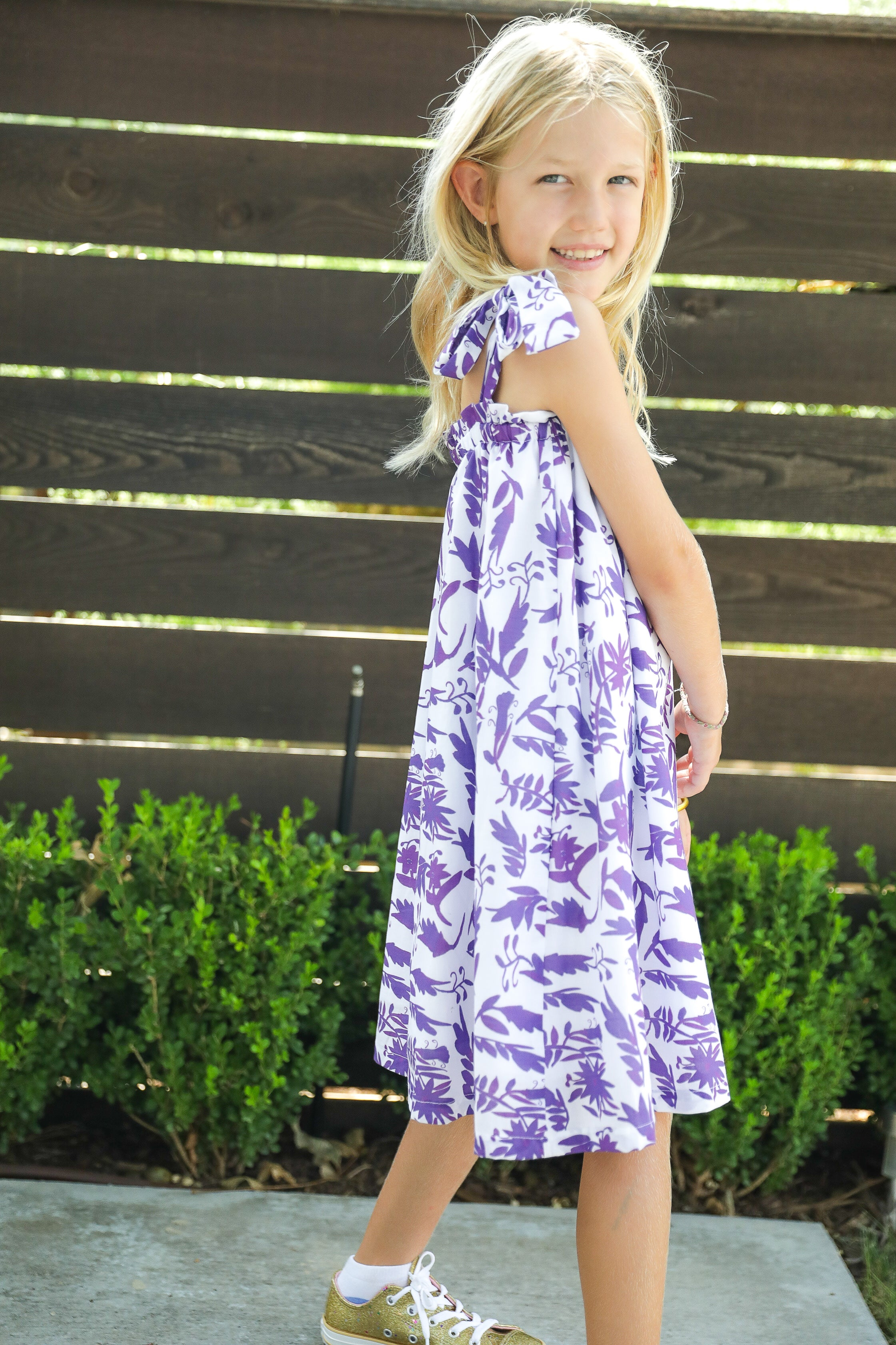 Kids Coco Dress Black Label