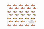 Trout Print Stationery