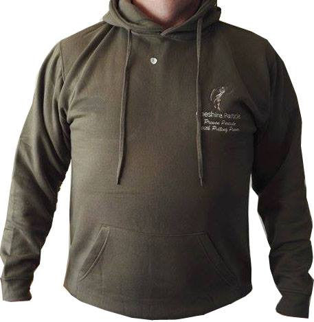 Hoodie in Military Green - Cheshire Particle