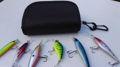 Pike Plug Lure Spinner Set & Carry Case