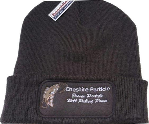 Beanie Hat in Charcoal Grey - Cheshire Particle