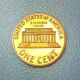 1970 S 1c Proof Lincoln Memorial Cent Large Date  Variety / Type Coin