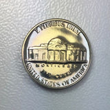 1968 S 5c Proof Jefferson Nickel - Yearly Special Presentation Strike Coin