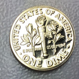 1972 S 10c Proof Roosevelt Dime - Yearly Special Presentation Strike Coin