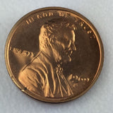 1969 S 1c Proof Lincoln Memorial Cent - Proof Presentation Strike Coin
