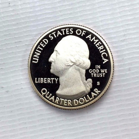 2010 25c Hot Spring NP Clad DC ( Proof ) National Parks Quarter - Gem UNC