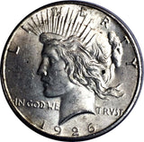 1926-S $1 Peace Dollar - San Francisco Mint - Choice About Uncirculated 817-17DO